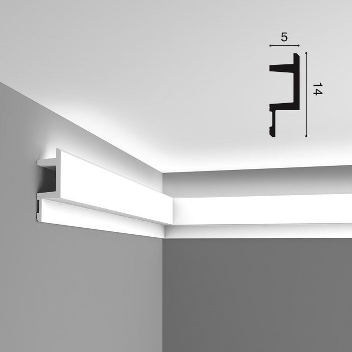 Карниз полиуретановый для скрытого освещения гидроизоляция терас